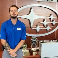 Brandon Ericksen at Subaru of Las Vegas