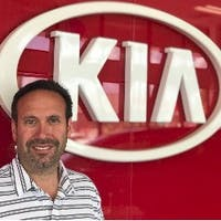 Mitchell Loszynski at Hollywood Kia