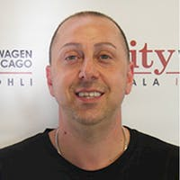 Luciano  Todaro at City Volkswagen of Chicago