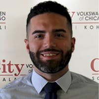 Erick  Schneuker at City Volkswagen of Chicago