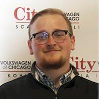 Alex Paszkowski at City Volkswagen of Chicago