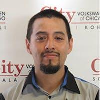 Roberto Delgado at City Volkswagen of Chicago