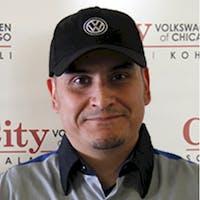 Francisco Vargas at City Volkswagen of Chicago