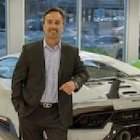 Ron Giger at Lamborghini North Los Angeles