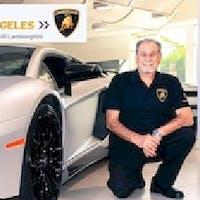 Dikran  Kalaydjian at Lamborghini North Los Angeles