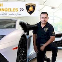 Gilbert Murillo at Lamborghini North Los Angeles