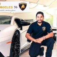Rob Calles at Lamborghini North Los Angeles