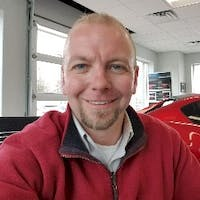 Justin Clairmore at Fred Mueller Automotive