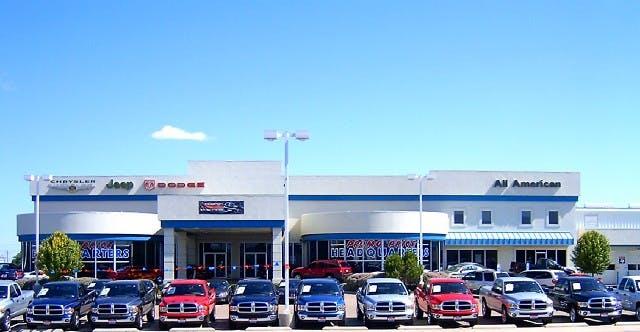 All American Dodge Odessa >> All American Chrysler Jeep Dodge Ram Of Odessa Chrysler