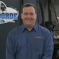Russ Hoeschen at Tenvoorde Ford