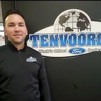 Rene Burguet at Tenvoorde Ford