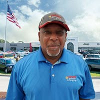 Reginald Harris at Crown Chrysler Dodge Jeep RAM Fiat