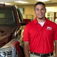 Ryon Ezell at McLarty Daniel Buick GMC