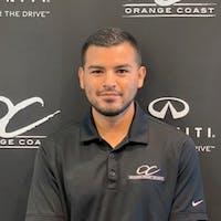 Freddy Suarez at Orange Coast INFINITI