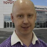 Kevin McEachern at Sherwood Park Toyota