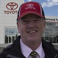 Peter Fleming at Sherwood Park Toyota