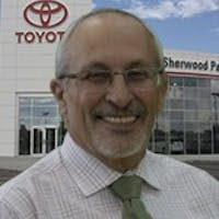 Ted Dixon at Sherwood Park Toyota