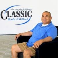 Jeff Martinez at Classic Honda of Midland