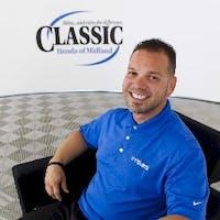 Cesar Gaudin at Classic Honda of Midland