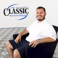 Arnold Rodriguez at Classic Honda of Midland