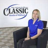 Shae Stewart at Classic Honda of Midland - Service Center