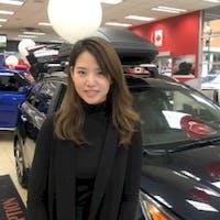 Gina Qi at Kia Vancouver