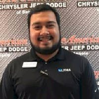 Juan Sanchez at All American Chrysler Jeep Dodge Ram Fiat of San Angelo
