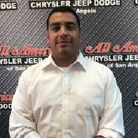 Daniel Cisneros at All American Chrysler Jeep Dodge Ram Fiat of San Angelo
