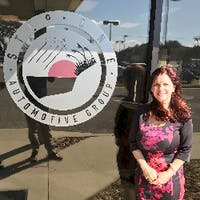 Mary Ann Troiano at Performance Cars Niceville