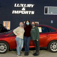 Taylor Kendrick at Luxury & Imports of Junction City