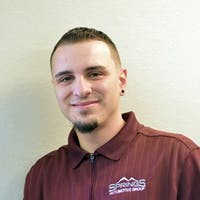 Dwayne Lujan JR at Springs Automotive Group - Platte Ave