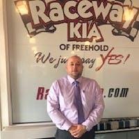 Vlad Frenkel at Raceway Kia of Freehold