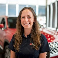 Taylor Roberts at Grande Prairie Hyundai