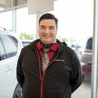 Donavon  Gaudet at Grande Prairie Nissan