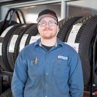 Aidan Daruda at Grande Prairie Nissan