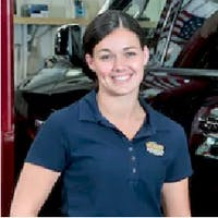 Daniela Ferreira at World Jeep Chrysler Dodge Ram - Service Center