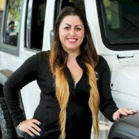 Wanda Bosque at World Jeep Chrysler Dodge Ram