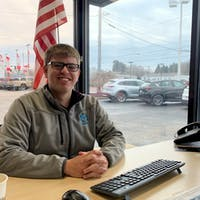 Brandon  Doak at Montrose Mazda in Kent