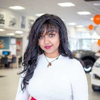 Tinnie Yilma at Kentwood Ford