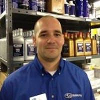 Jeremie Robison at Subaru Concord