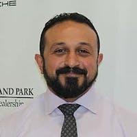 Mohamed  Aboutabl at Porsche Orland Park, A Joe Rizza Dealership