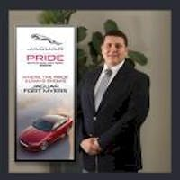 Ryan Barcenas at Jaguar Land Rover Fort Myers