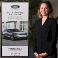 Hannah Del Negro at Jaguar Land Rover Fort Myers