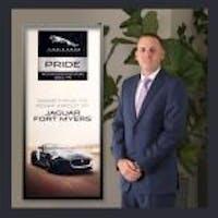 Dan  Collins at Jaguar Land Rover Fort Myers