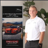 Ryan Erhardt at Jaguar Land Rover Fort Myers