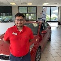 Jose Rivera at Crain Kia of Fayetteville