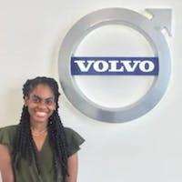Erline Destine at Volvo Cars of Naples