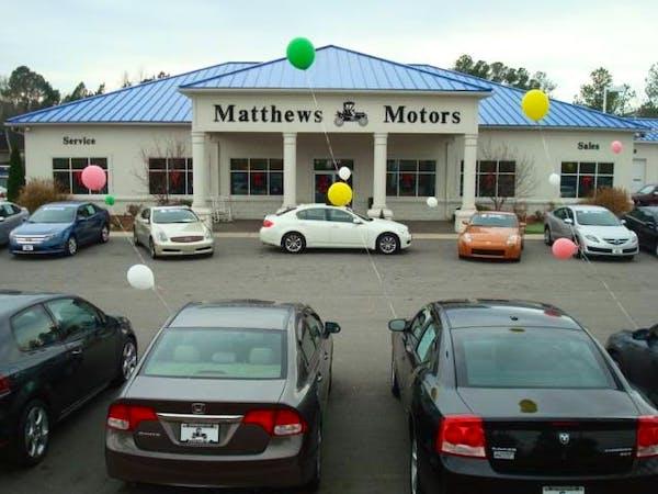 Matthews Motors Inc, Clayton, NC, 27520