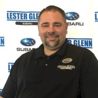Jim  Grace  at Lester Glenn Subaru
