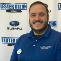 Ryan Hickman at Lester Glenn Subaru